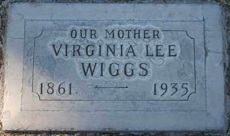 WIGGS, VIRGINIA LEE - Maricopa County, Arizona | VIRGINIA LEE WIGGS - Arizona Gravestone Photos
