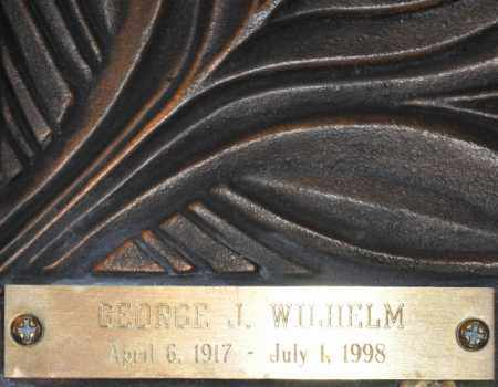 WILHELM, GEORGE J. - Maricopa County, Arizona | GEORGE J. WILHELM - Arizona Gravestone Photos