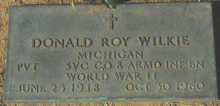 WILKIE, DONALD ROY - Maricopa County, Arizona | DONALD ROY WILKIE - Arizona Gravestone Photos