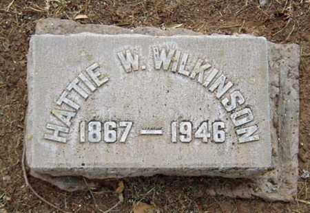 WILKINSON, HATTIE W. - Maricopa County, Arizona | HATTIE W. WILKINSON - Arizona Gravestone Photos