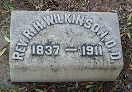 WILKINSON, REV. RUFUS H - Maricopa County, Arizona | REV. RUFUS H WILKINSON - Arizona Gravestone Photos