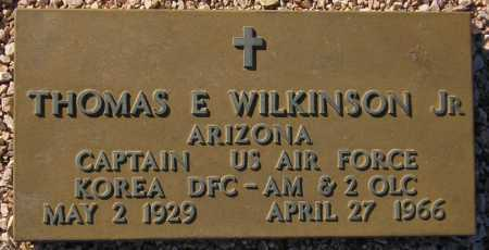 WILKINSON, THOMAS E. - Maricopa County, Arizona | THOMAS E. WILKINSON - Arizona Gravestone Photos