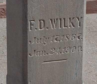 WILKY, F. D. - Maricopa County, Arizona   F. D. WILKY - Arizona Gravestone Photos