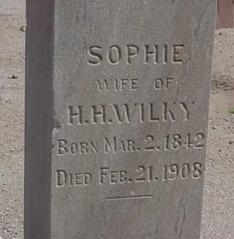 WILKY, SOPHIE - Maricopa County, Arizona | SOPHIE WILKY - Arizona Gravestone Photos