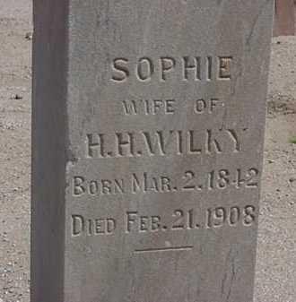 LUTGERDING WILKY, SOPHIE - Maricopa County, Arizona   SOPHIE LUTGERDING WILKY - Arizona Gravestone Photos