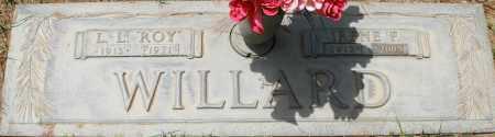 WILLARD, IRENE F - Maricopa County, Arizona   IRENE F WILLARD - Arizona Gravestone Photos