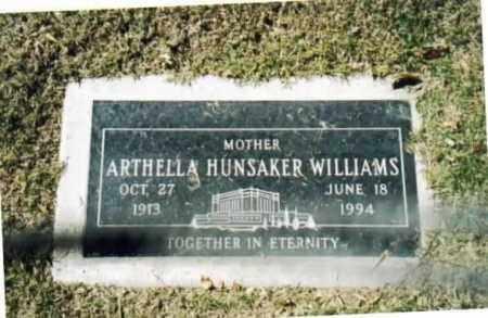 WILLIAMS, ARTHELLA ESTELLA - Maricopa County, Arizona | ARTHELLA ESTELLA WILLIAMS - Arizona Gravestone Photos