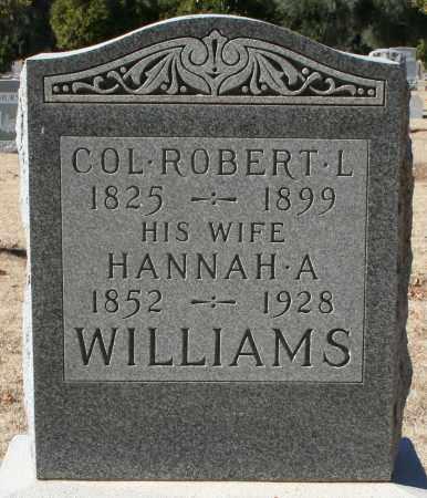 WILLIAMS, COL. ROBERT L - Maricopa County, Arizona   COL. ROBERT L WILLIAMS - Arizona Gravestone Photos