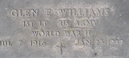 WILLIAMS, GLEN - Maricopa County, Arizona | GLEN WILLIAMS - Arizona Gravestone Photos