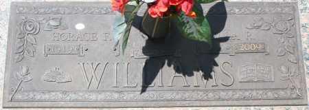 WILLIAMS, HORACE F. - Maricopa County, Arizona   HORACE F. WILLIAMS - Arizona Gravestone Photos