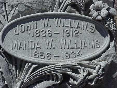 WILLIAMS, JOHN W - Maricopa County, Arizona | JOHN W WILLIAMS - Arizona Gravestone Photos