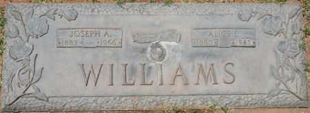 WILLIAMS, JOSEPH A. - Maricopa County, Arizona | JOSEPH A. WILLIAMS - Arizona Gravestone Photos