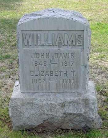 TUCKER WILLIAMS, ELIZABETH - Maricopa County, Arizona | ELIZABETH TUCKER WILLIAMS - Arizona Gravestone Photos