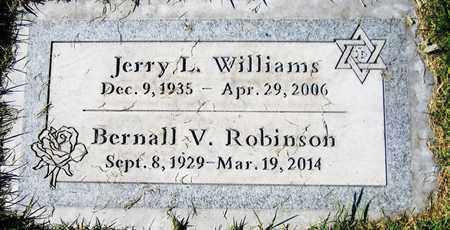 ROBINSON, BERNALL V. - Maricopa County, Arizona | BERNALL V. ROBINSON - Arizona Gravestone Photos