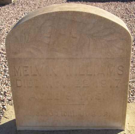 WILLIAMS, MELVIN - Maricopa County, Arizona | MELVIN WILLIAMS - Arizona Gravestone Photos