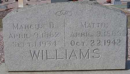 WILLIAMS, MARCUS D. - Maricopa County, Arizona | MARCUS D. WILLIAMS - Arizona Gravestone Photos