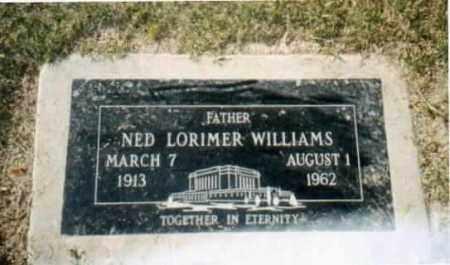 WILLIAMS, NED LORIMER - Maricopa County, Arizona | NED LORIMER WILLIAMS - Arizona Gravestone Photos
