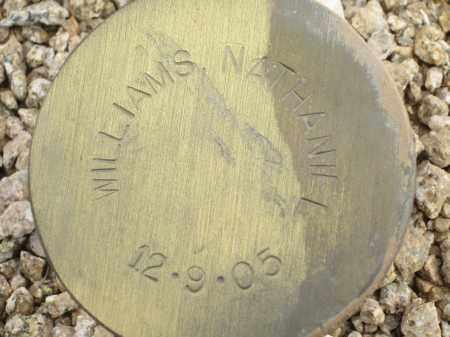 WILLIAMS, NATHANIEL - Maricopa County, Arizona   NATHANIEL WILLIAMS - Arizona Gravestone Photos