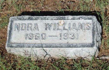 WILLIAMS, NORA - Maricopa County, Arizona   NORA WILLIAMS - Arizona Gravestone Photos