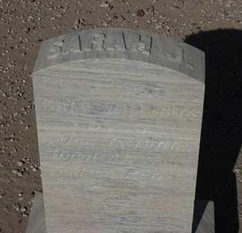 WILLIAMS, SARAH J. - Maricopa County, Arizona   SARAH J. WILLIAMS - Arizona Gravestone Photos