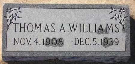 WILLIAMS, THOMAS A. - Maricopa County, Arizona | THOMAS A. WILLIAMS - Arizona Gravestone Photos