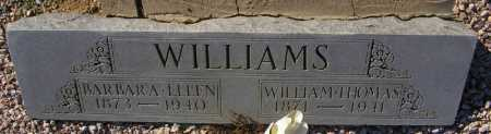 WILLIAMS, BARBARA ELLEN - Maricopa County, Arizona | BARBARA ELLEN WILLIAMS - Arizona Gravestone Photos