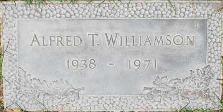 WILLIAMSON, ALFRED T. - Maricopa County, Arizona | ALFRED T. WILLIAMSON - Arizona Gravestone Photos