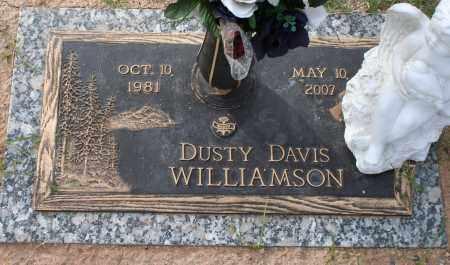WILLIAMSON, DUSTY DAVIS - Maricopa County, Arizona | DUSTY DAVIS WILLIAMSON - Arizona Gravestone Photos