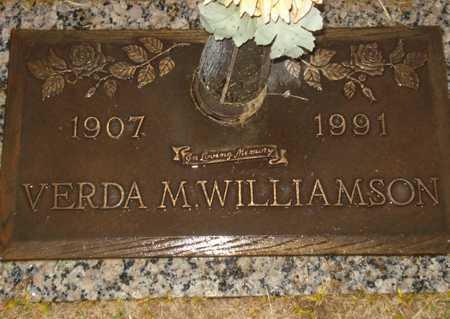 WILLIAMSON, VERDA M. - Maricopa County, Arizona | VERDA M. WILLIAMSON - Arizona Gravestone Photos