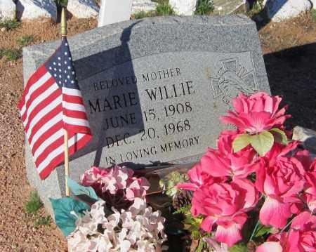 WILLIE, MARIE - Maricopa County, Arizona | MARIE WILLIE - Arizona Gravestone Photos
