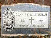 WILLINGHAM, CONNIE C. - Maricopa County, Arizona | CONNIE C. WILLINGHAM - Arizona Gravestone Photos