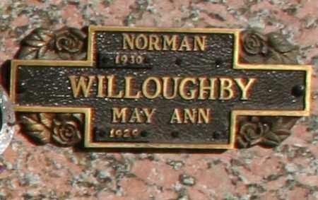 WILLOUGHBY, MAY ANN - Maricopa County, Arizona   MAY ANN WILLOUGHBY - Arizona Gravestone Photos