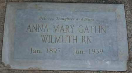 WILMUTH, ANNA MARY - Maricopa County, Arizona | ANNA MARY WILMUTH - Arizona Gravestone Photos