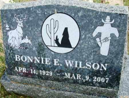 WILSON, BONNIE E. - Maricopa County, Arizona   BONNIE E. WILSON - Arizona Gravestone Photos