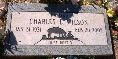 WILSON, CHARLES LOYD - Maricopa County, Arizona | CHARLES LOYD WILSON - Arizona Gravestone Photos