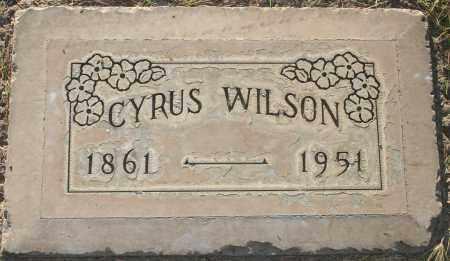 WILSON, CYRUS - Maricopa County, Arizona | CYRUS WILSON - Arizona Gravestone Photos
