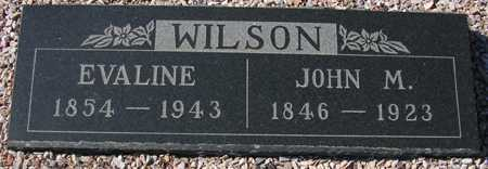 WILSON, EVALINE - Maricopa County, Arizona | EVALINE WILSON - Arizona Gravestone Photos