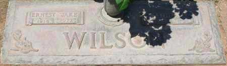 "WILSON, ERNEST ""JAKE"" - Maricopa County, Arizona | ERNEST ""JAKE"" WILSON - Arizona Gravestone Photos"