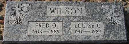WILSON, FRED O. - Maricopa County, Arizona | FRED O. WILSON - Arizona Gravestone Photos