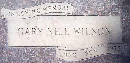 WILSON, GARY NEIL - Maricopa County, Arizona   GARY NEIL WILSON - Arizona Gravestone Photos