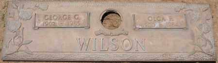 WILSON, OLGA P. - Maricopa County, Arizona | OLGA P. WILSON - Arizona Gravestone Photos