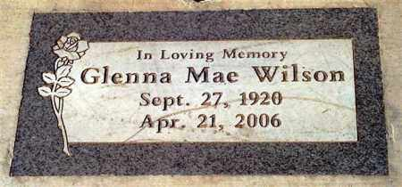 SHEPARD WILSON, GLENNA MAE - Maricopa County, Arizona | GLENNA MAE SHEPARD WILSON - Arizona Gravestone Photos