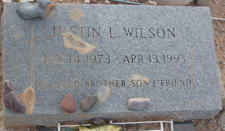 WILSON, JUSTIN L - Maricopa County, Arizona   JUSTIN L WILSON - Arizona Gravestone Photos