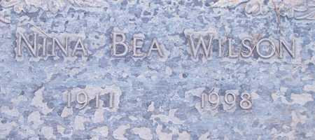 WILSON, NINA BEA - Maricopa County, Arizona | NINA BEA WILSON - Arizona Gravestone Photos
