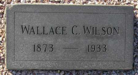 WILSON, WALLACE C(RESSEELL) - Maricopa County, Arizona   WALLACE C(RESSEELL) WILSON - Arizona Gravestone Photos