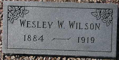 WILSON, WESLEY W. - Maricopa County, Arizona | WESLEY W. WILSON - Arizona Gravestone Photos