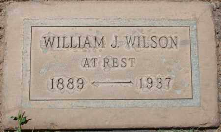 WILSON, WILLIAM J. - Maricopa County, Arizona | WILLIAM J. WILSON - Arizona Gravestone Photos