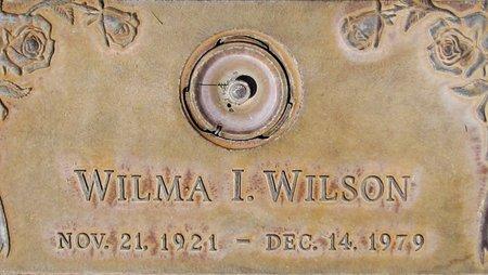 WILSON, WILMA I. - Maricopa County, Arizona | WILMA I. WILSON - Arizona Gravestone Photos