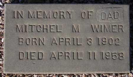 WIMER, MITCHEL M. - Maricopa County, Arizona | MITCHEL M. WIMER - Arizona Gravestone Photos