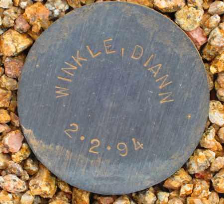 WINKLE, DIANN - Maricopa County, Arizona   DIANN WINKLE - Arizona Gravestone Photos